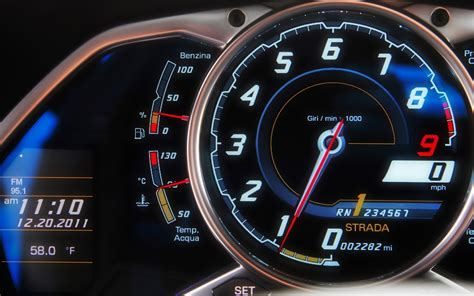 lamborghini speedometer going nowhere fast lamborghini supercars automobile