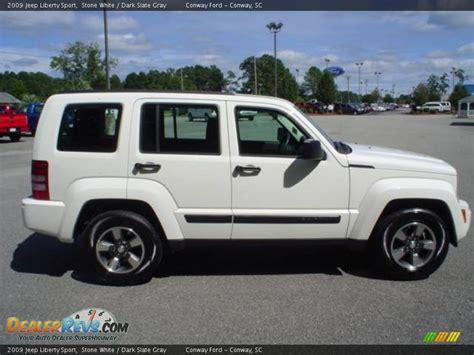 2009 Jeep Liberty by 2009 Jeep Liberty Sport White Slate Gray