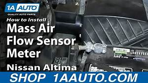 How To Install Replace Mass Air Flow Sensor Meter 1998