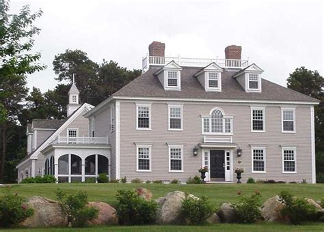 Federal House Plans by Federal Colonial House Plans