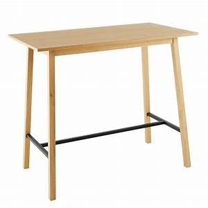 Table Haute 4 Personnes : table manger haute 4 6 personnes l120 etna maisons du ~ Melissatoandfro.com Idées de Décoration