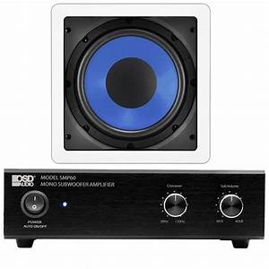 75w Compact Subwoofer Amplifier With 8 U0026quot  150w In