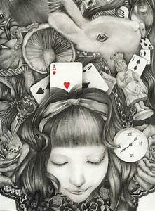 Alice in Wonderland Amazing Drawing | Illustrations That ...