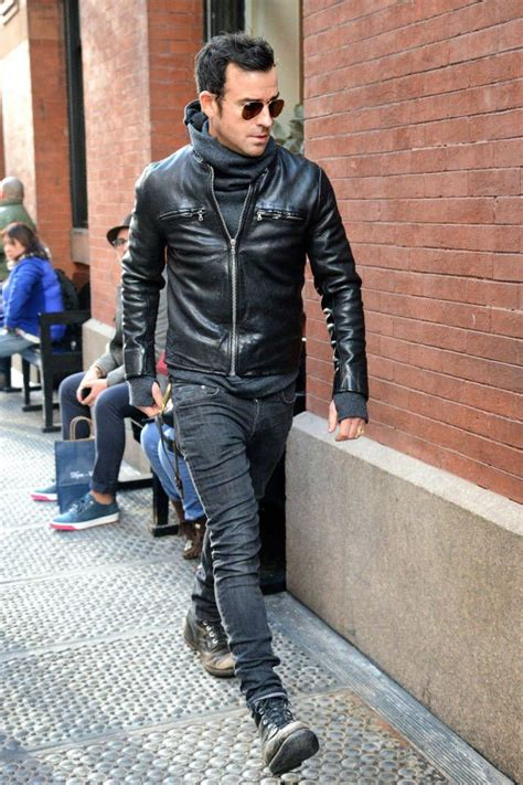 54 best Leather Jacket Combos images on Pinterest | Men fashion Leather jackets and Gentleman ...