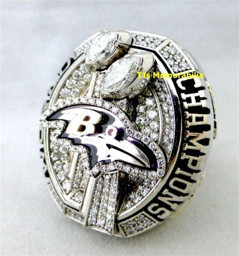 2012 Baltimore Ravens Super Bowl Xlvii Championship Ring