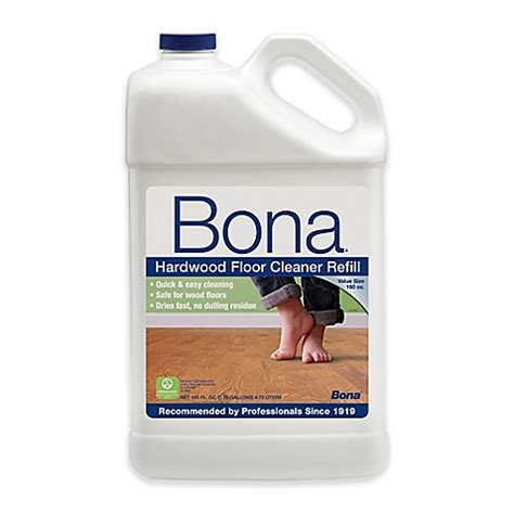 bona floor cleaner refill buy bona 174 160 ounce hardwood floor cleaner refill from bed