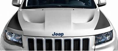 Cherokee Grand Hood Srt Stripes Jeep Blackout