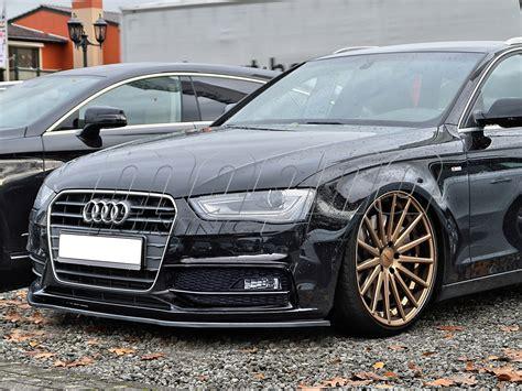 Audi A4 B8 / 8K Facelift S-Line Intenso Front Bumper Extension