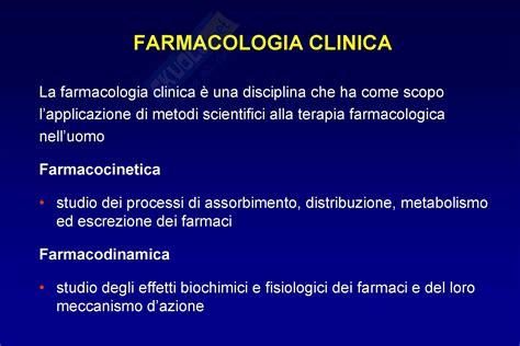 dispense di farmacologia farmacocinetica dispense