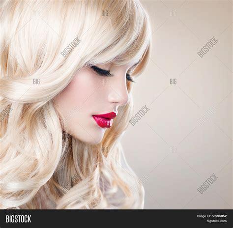 Beauty Blonde Woman Portrait Image And Photo Bigstock