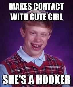 Bad Luck Brian memes | quickmeme