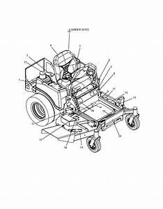 127 28875 Craftsman Professional Zero Turn Riding Lawn Mower
