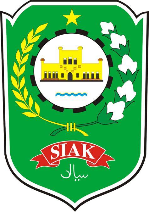 logo kabupaten siak kumpulan logo indonesia