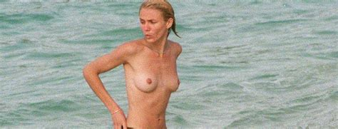 Cameron Diaz Caught Topless On The Beach Celebsflash