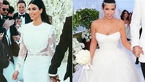 Kim kardashian39s wedding dresses for Kim kardashian s wedding dress