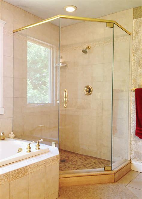 neo angle shower doors neo angle shower doors corner shower manalapan nj