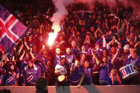 Iceland Makes World Cup History Smallest Nation