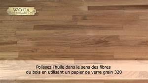 Huile Pour Plan De Travail : woca huile pour plan de travail youtube ~ Premium-room.com Idées de Décoration