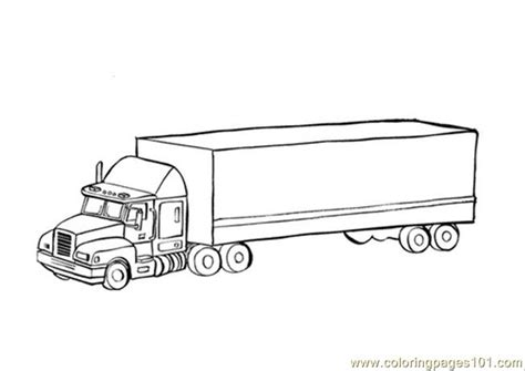 photo transport truck dm coloring page  vehicle transport coloring pages
