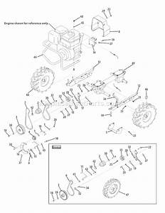 Troy-bilt 21a-64m1066 Parts List And Diagram