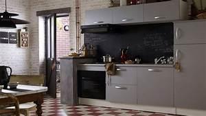 amenagement petite cuisine 12 idees de cuisine ouverte With porte d entrée alu avec carrelage mural salle de bain noir brillant
