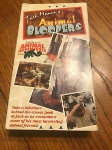 Jack Hanna's Animal Bloopers / Animal Adventures VHS ...