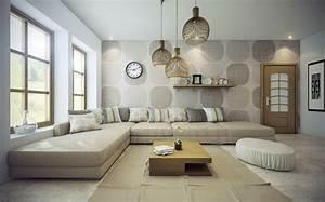 Idees Deco Salon : idee decoration salon cosy ~ Melissatoandfro.com Idées de Décoration