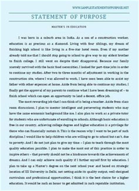 Statement Of Purpose Exle Essays by 11 Best Statement Of Purpose Grad School Images In 2016