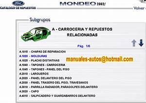 Manual De Taller Ford Mondeo, Fiesta, Courier, Vocho, Polo, Ranger y Explorer