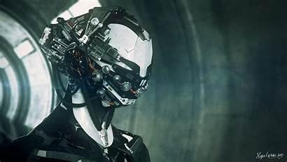 Mech Beasty Zbrush Keyshot Synthwave Bot Robot