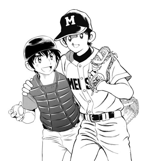 Baseball Manga Major 2nd & Mix Celebrate 'Battery Day ...