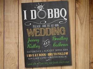 i do bbq wedding invitation template download chalkboard With i do bbq wedding invitations templates