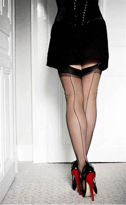 Heels Stockings Nylon Inch Fetish Nylons Legs