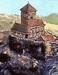 Burg hoch über der Steina errichtet - Bonndorf - Badische ...