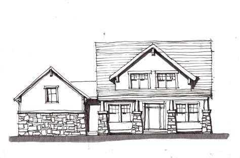 Home Design Drawing by Design Sketches