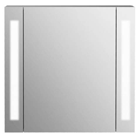 bathroom mirror cabinet with lights and shaver socket buy odyssey mirror bathroom cabinet shaver socket