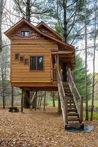 Moose Meadow Lodge Tree House Stauffer Woodworking