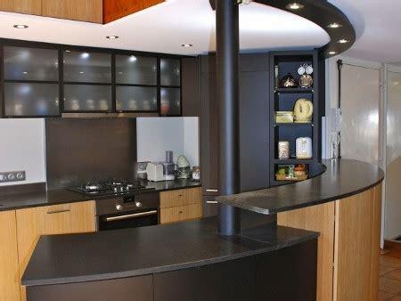 bar dans cuisine ouverte cuisine ouverte bar top cuisine