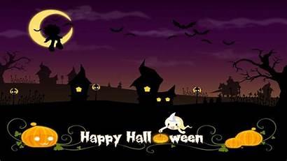 Halloween Desktop Background Backgrounds Wallpapers Computer Kawaii