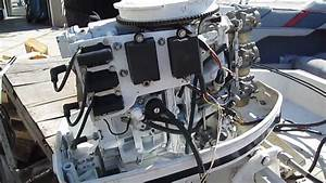 85 Hp Force 1986 Power Head For Sale Perfect Compression 856x6l Running