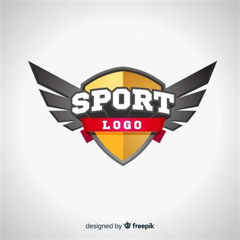 modern sport logo template  abstract design vector
