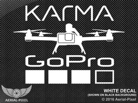 gopro karma drone window decal sticker hero  black session quadcopter ebay