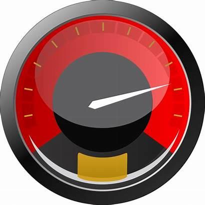 Speedometer Speed Clipart Transparent Meter Gauge Velocity