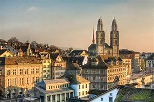 Grossmunster Church, Zurich | View of Grossmunster church ...