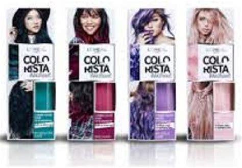 L'oreal Paris Colorista Wash Out Purple Hair Pastel 2 Week