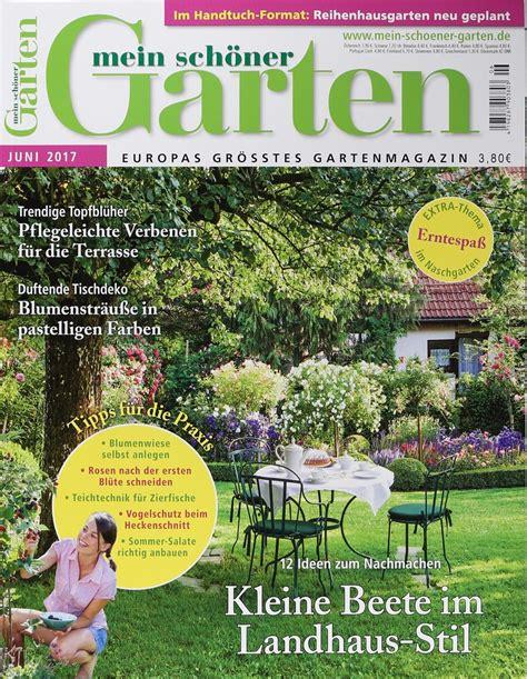 Mein Schöner Garten by Mein Sch 214 Ner Garten 6 2017 Zeitungen Und Zeitschriften