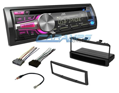New Jvc Car Stereo Radio Player Deck Installation