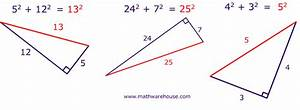 How To Use The Pythagorean Theorem  Step By Step Examples