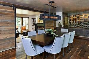 10 exquisite ways to incorporate reclaimed wood into your With barn doors for dining room