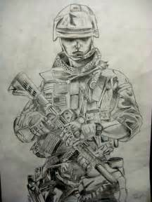 Marine Pencil Drawings